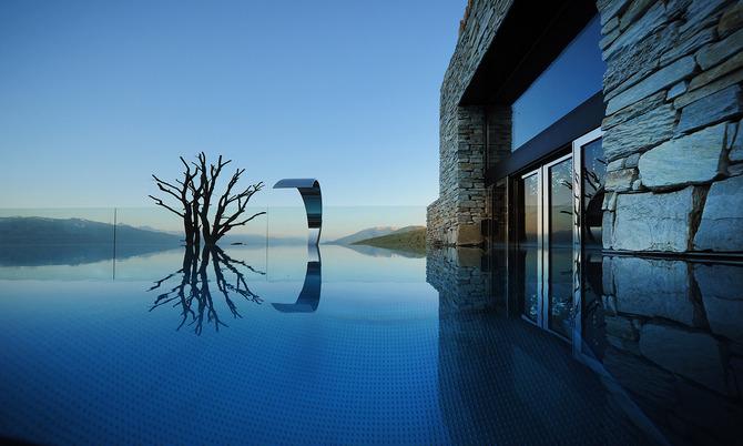 Le pi belle piscine riscaldate immerse nella neve - Hotel maranza con piscina coperta ...
