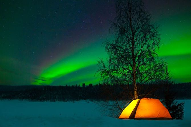 I 10 Posti Pi 249 Spettacolari Dove Vedere L Aurora Boreale