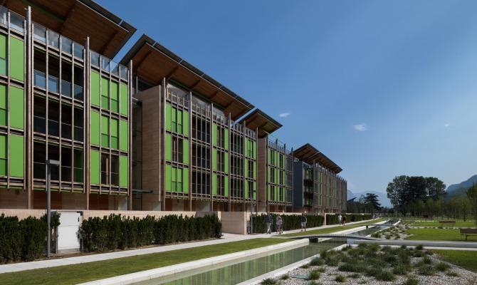 Le albere la nuova area green di trento for Progetti di renzo piano