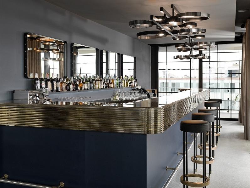 Ceresio7 aperitivo con piscina e design for Studio design interni milano