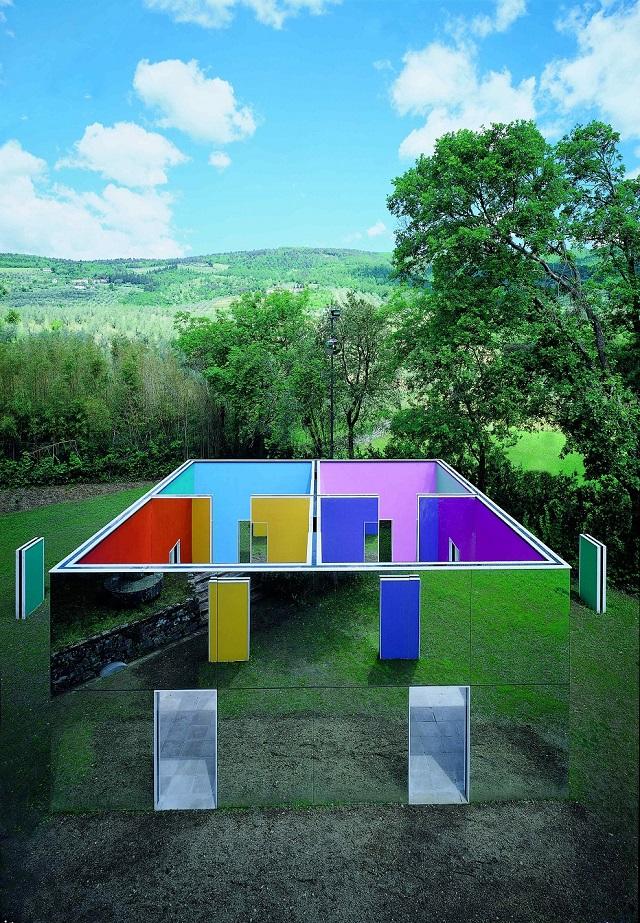 Fattoria di celle la tenuta dell 39 arte contemporanea for Piani di fattoria contemporanea