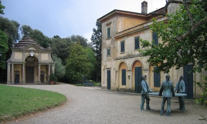 Fattoria di celle la tenuta dell 39 arte contemporanea for Tenuta di campagna francese