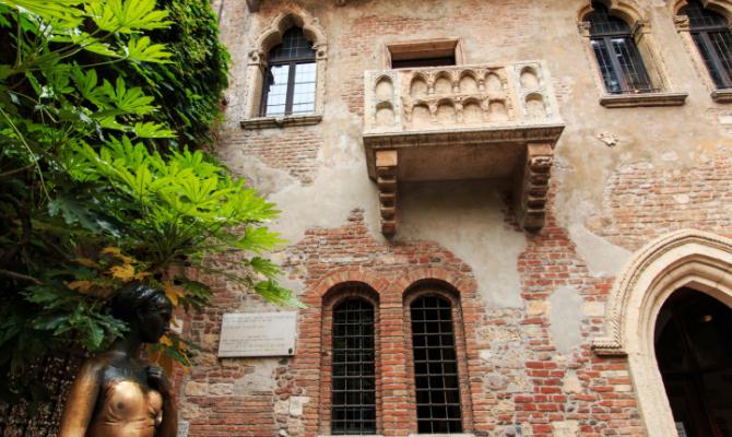 Verona i luoghi storici di romeo e giulietta for Jardin shakespeare 2015
