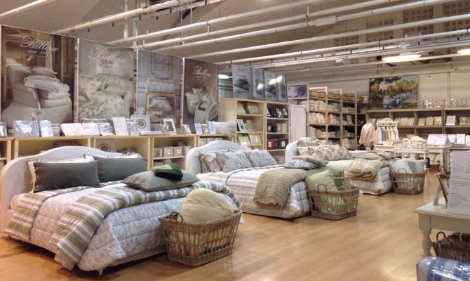 Varese l 39 outlet per la casa firmato bellora for Shopping per la casa