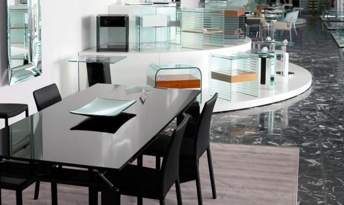 Marche il migliore outlet del vetro che sposa il design for Outlet del design
