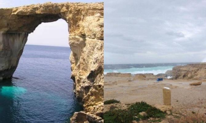 Gozo la finestra azzurra non c 39 pi - Malta finestra azzurra ...