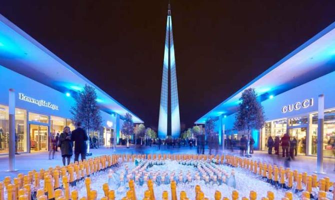 Torino outlet village tra shopping e architettura for Tessuti arredamento outlet torino