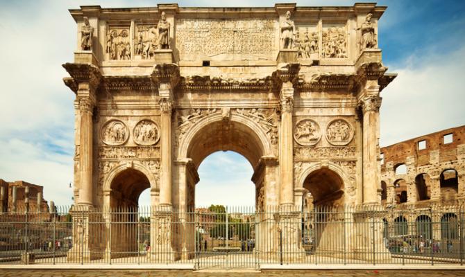 Gli archi di roma il trionfo della vittoria for Archi arredo roma