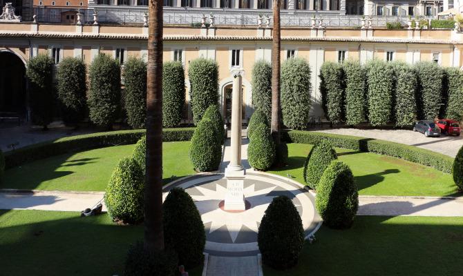 Roma le meraviglie dei giardini di palazzo colonna for O giardino di pulcinella roma