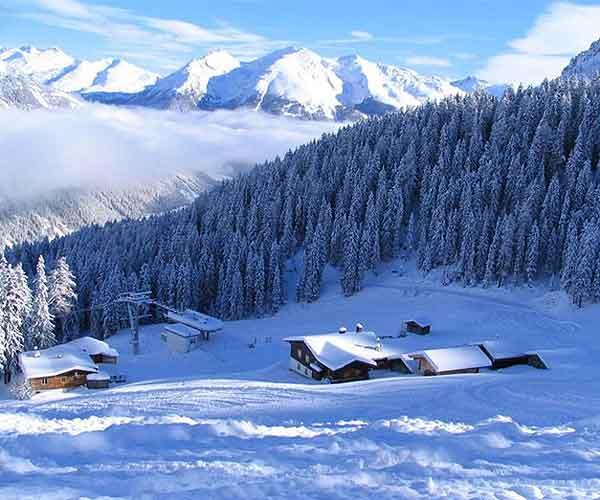 Isarco baite sulla neve for Disegni di baite