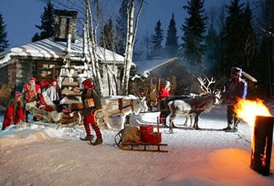 Immagini Natalizie Lapponia.Lapponia Destinazione Natale