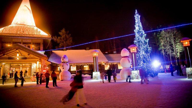 Rovaniemi l 39 ufficio postale di santa klaus for L ufficio postale di babbo natale