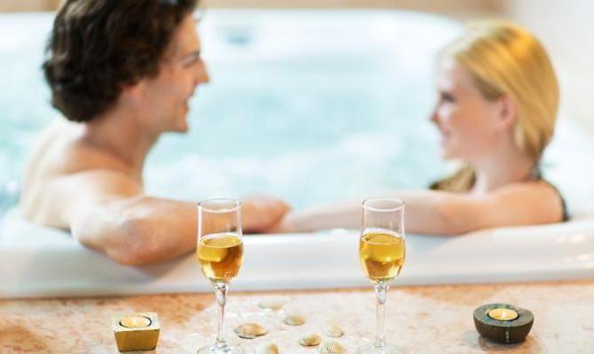 div>san valentino in spa: i trattamenti più romantici </div> - Bagno Romantico San Valentino