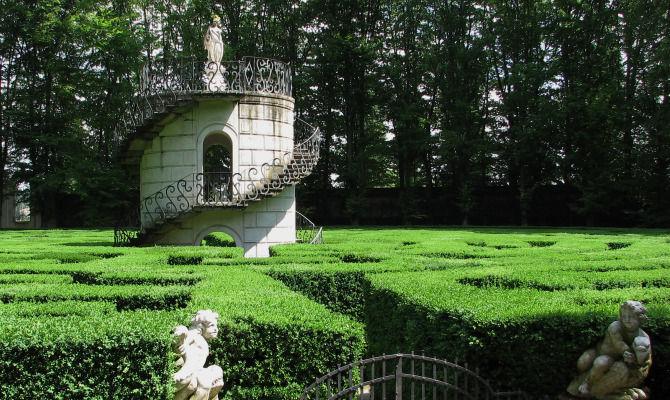 Villa Pisani Giardino Veneto Pieno Di Storia