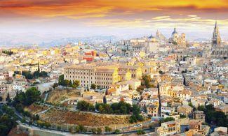 Cartina Spagna Toledo.Toledo Mappa