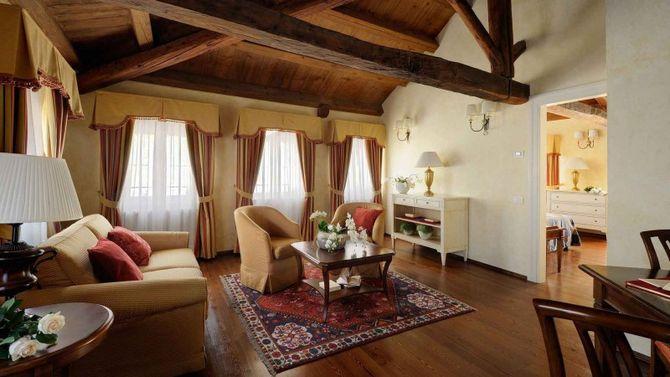 Castelbrando hotel e spa di lusso for Foto di appartamenti arredati
