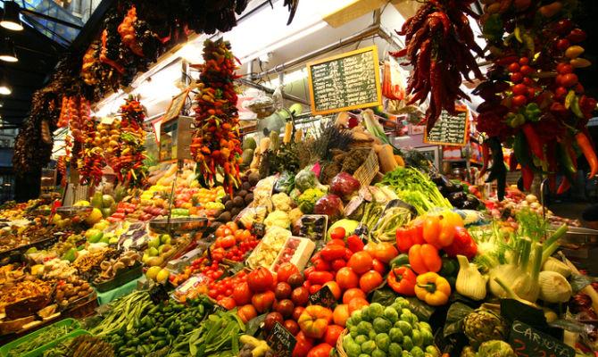 mercato della carne risalente