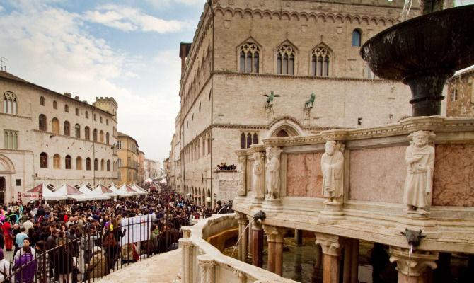 Perugia Capitale Del Cioccolato Per 10 Giorni