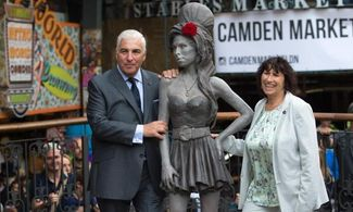 statua, Amy Winehouse, londra