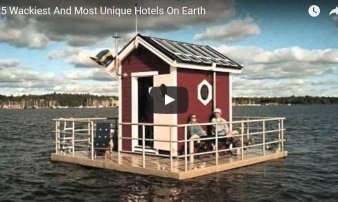Video 25 Hotel Davvero Particolari In Giro Per Il Mondo