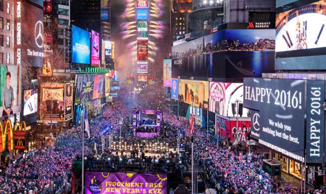 Foto capodanno times square