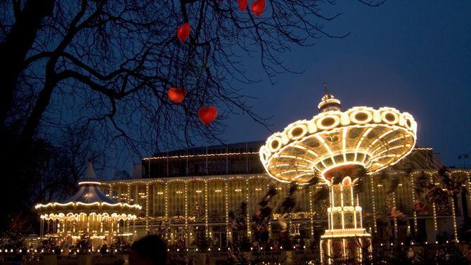 Natale tra le luci di copenaghen - Giardini di tivoli copenaghen ...