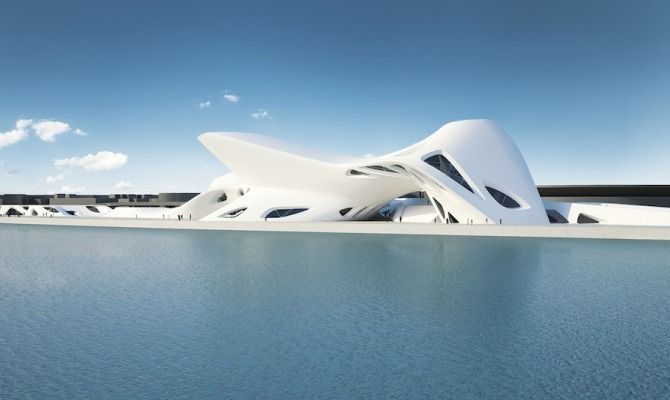 A roma la grande architettura di zaha hadid - Hadid architetto ...