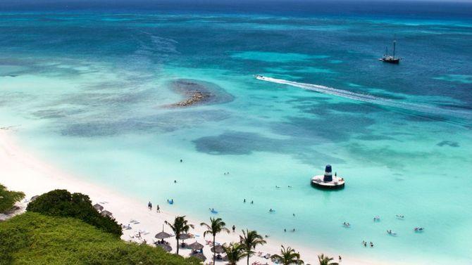 Aruba Isola Felice Dei Caraibi