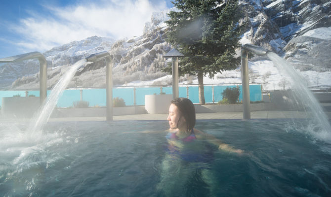 Bagni Termali Svizzera : In svizzera il centro alpino termale più in quota d europa