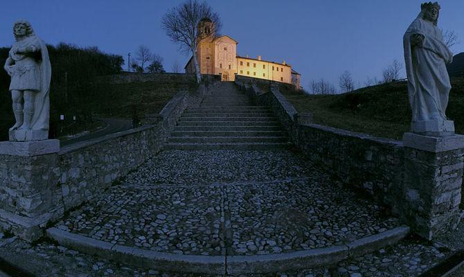 new concept da2e9 00f7b Feltre, il Santuario ad alta quota più bello di Belluno