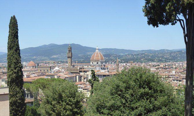 Firenze è Magica Vista Da Giardino Bardini