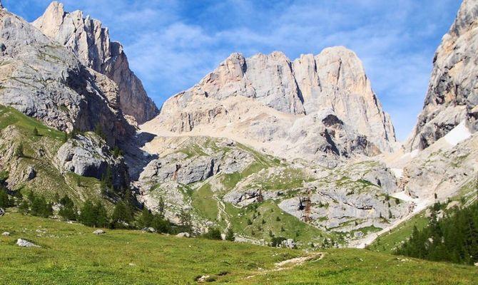 Estate panoramica sulle dolomiti di brenta for Monti del trentino