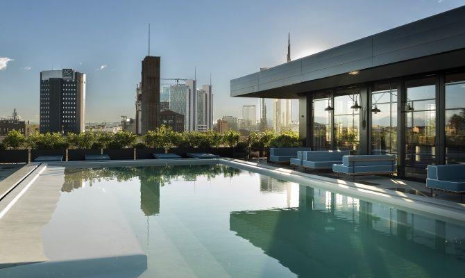 Ceresio7 aperitivo con piscina e design