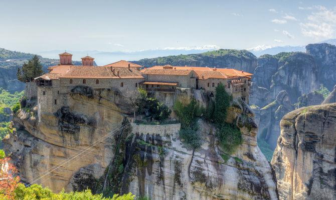 Le Meteore, monastero in Grecia