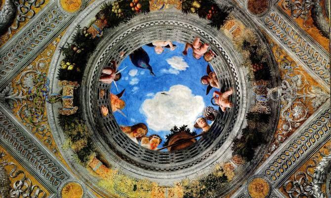 Mantova la meraviglia della camera degli sposi for Palazzo ducale mantova camera degli sposi