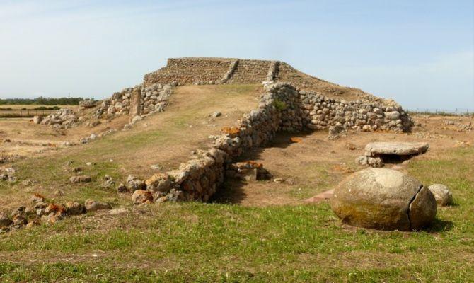 Una Ziggurat In Sardegna Monte D Accoddi