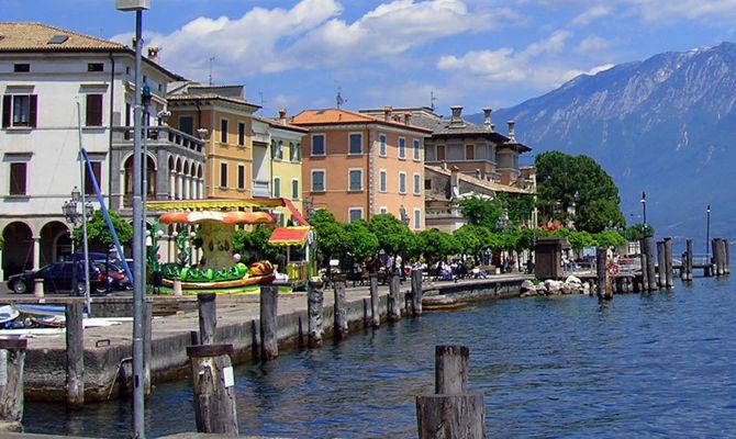 Lombardia, l'eco resort sul Garda