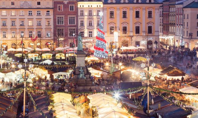 Foto Di Mercatini Di Natale.I Mercatini Di Natale A Cracovia