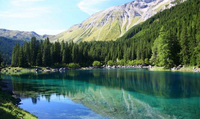 I pi bei laghi balneabili di pitzal for Immagini di laghetti