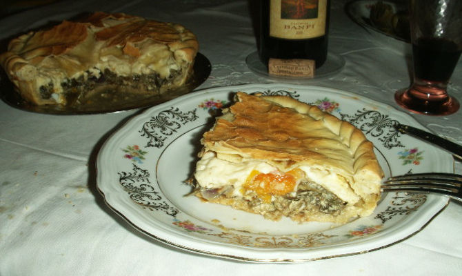 Ricetta torta pasqualina alla genovese