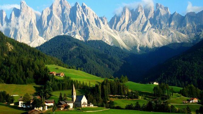 Италия климат Italia