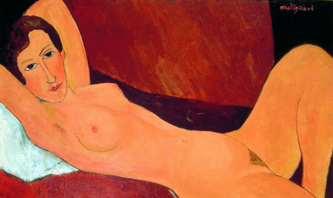 Genova, primavera d\'arte con i nudi di Modigliani