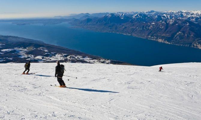 Sciare sul lago di garda for Disegni casa sul lago con vista sul lago