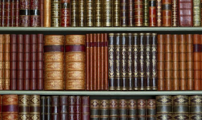 libri libreria antico enciclopedia volumi