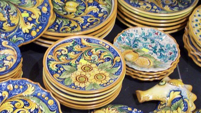 Caltagirone decoro tipico su piastrella in keramik etsy