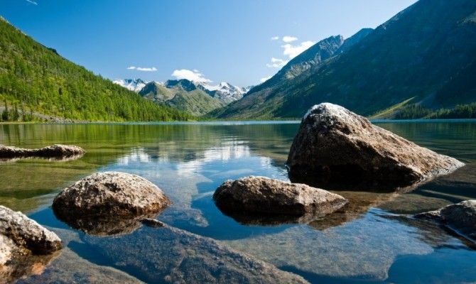 Altay: Multinskoe Lake