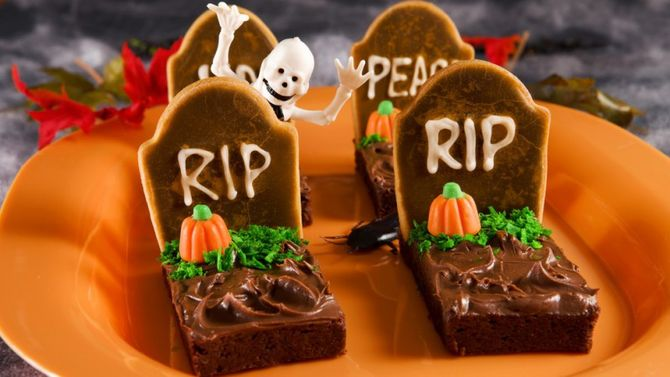 brownies halloween
