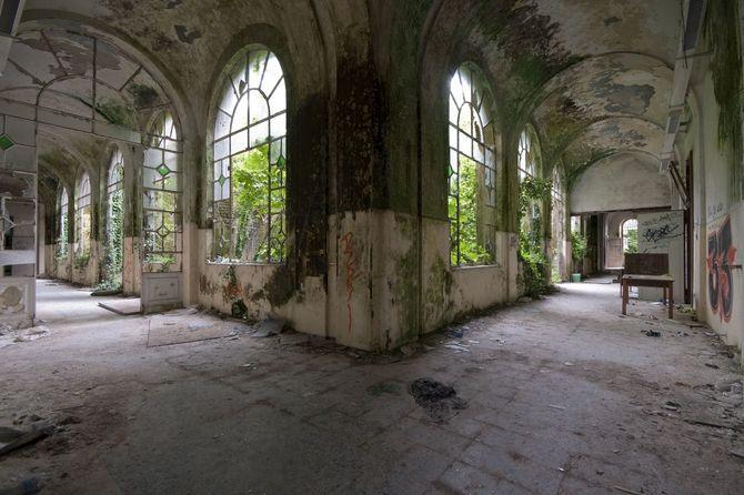 I luoghi abbandonati pi affascinanti del mondo anche in for Luoghi abbandonati nord italia