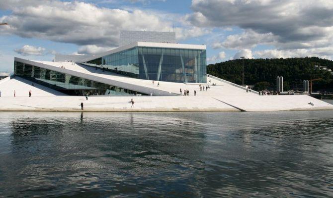Oslo regina di architettura e design for Progetti di costruzione famosi
