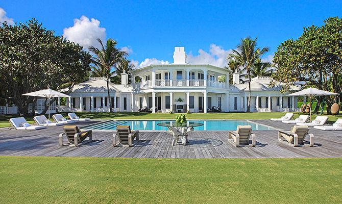 Jupiter island in vendita il gioiello architettonico di for Villa de celine dion en floride